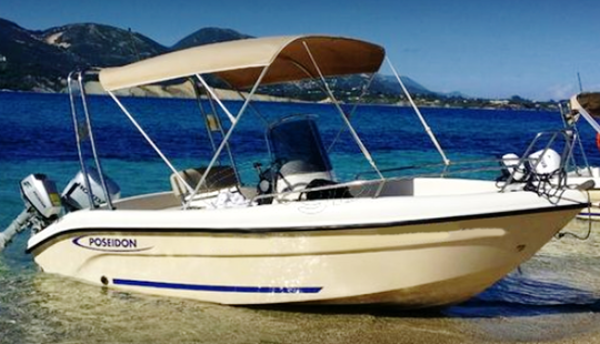 Rent This Small Boat For Up To 5 People In Agia Pelagia, Greece