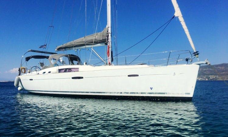 Sailing Charter On 46ft Beneteau Oceanis Cruising Monohull In Alimos, Greece