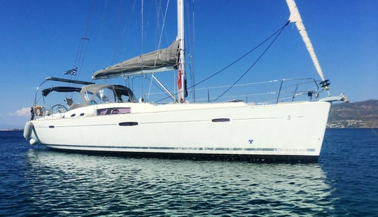 Sailing Charter On 46ft Beneteau Oceanis Cruising Monohull In Alimos, Greece