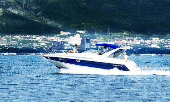 'anastasia' Cuddy Cabin Boat Charter In Gelendzhik