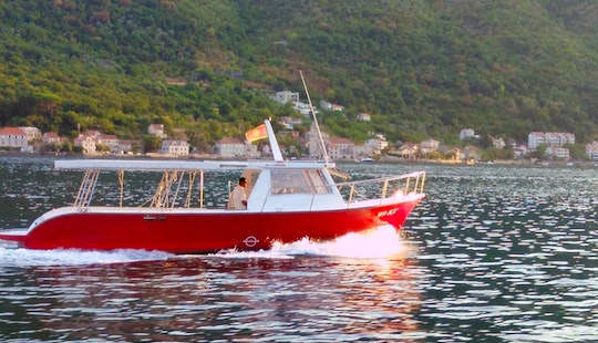 Charter A 50 People Boat In Perast, Montenegro