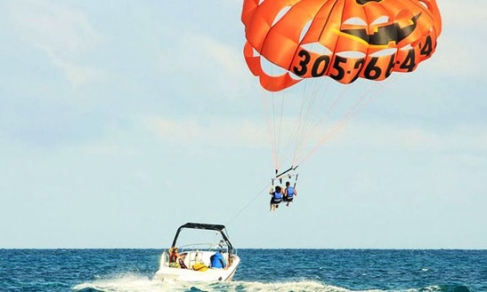 Thrilling Yet Safe Parasailing Ride In Malvan, Maharashtra