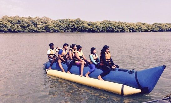 Enjoy Banana Boat Rides In Cavelossim, Goa