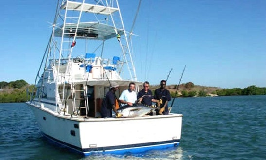 Enjoy Fishing In Shimoni, Kenya With Captain Peter