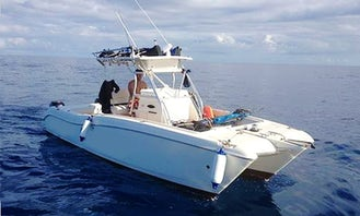Sport Fishing Power Boat in the Zanzibar Archipelago