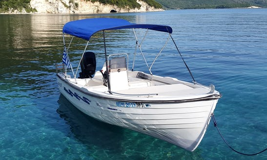 Rent 16' Aiolos 500 Center Console In Desimi, Greece