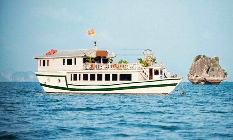 Legend White Dolphin Cruis in Hanoi - Vietnam