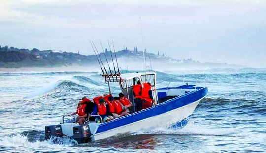 Enjoy Fishing In Margate, South Africa On Center Console
