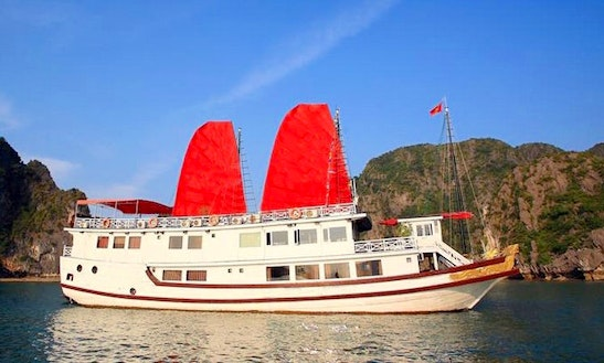 Enjoy Cruising In Thành Phố Hạ Long, Vietnam On Sun Legend Passenger Boat