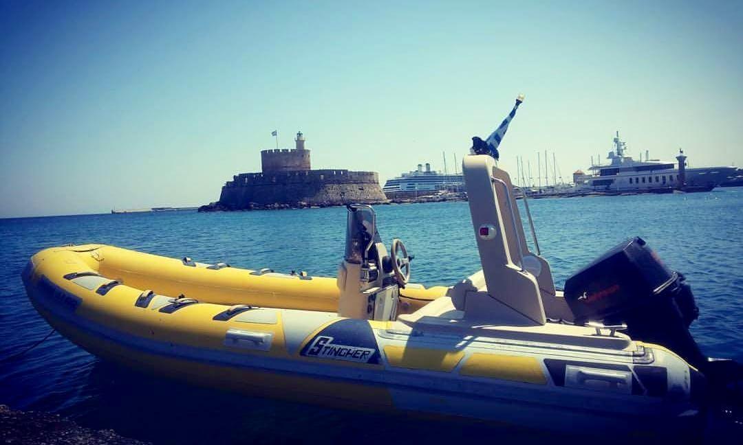 Private Rib Boat Tour in Rodos, Greece