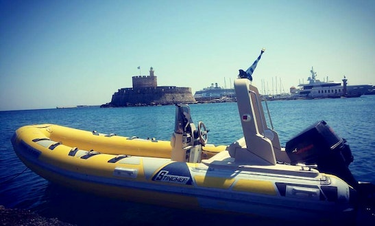 Private Rib Boat Tour In Rodos, Greece