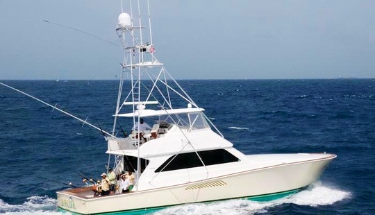 Sport Fisherman Fishing Charter In Puerto Rico