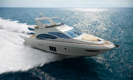 Power Mega Yacht Azimut 50 Fly Rental In Sorrento, Italy