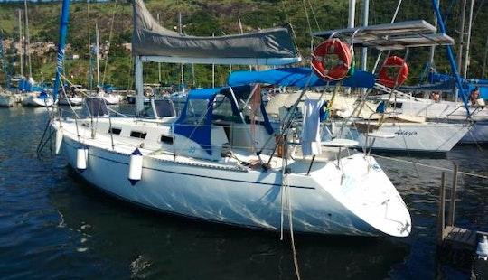 Sailing Boat Sangha In Rio De Janeiro
