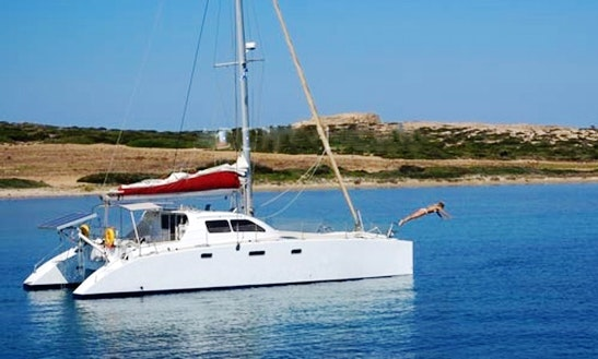 Cruising Catamaran Punch 41 Charter In Paros