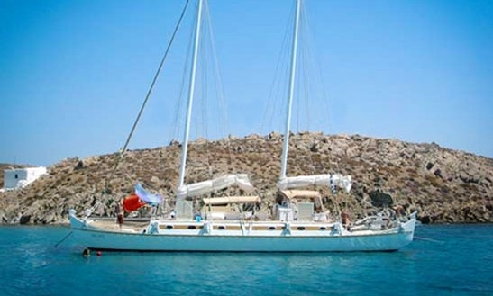 53' Cruising Catamaran Charter In Paros