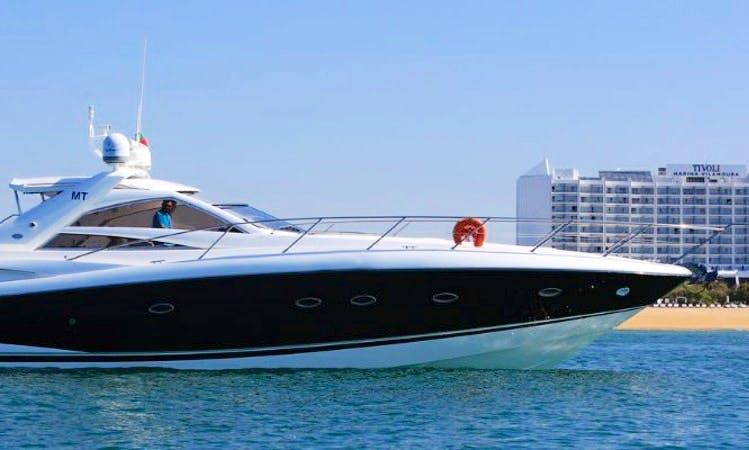 Discover Algarve, Portugal on Sunseeker Portofino 53 Yacht
