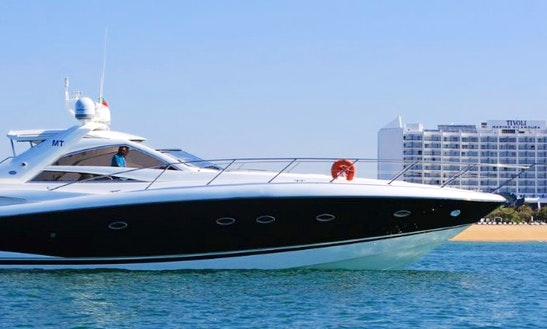 Discover Algarve, Portugal On Sunseeker Portofino 53 Yacht