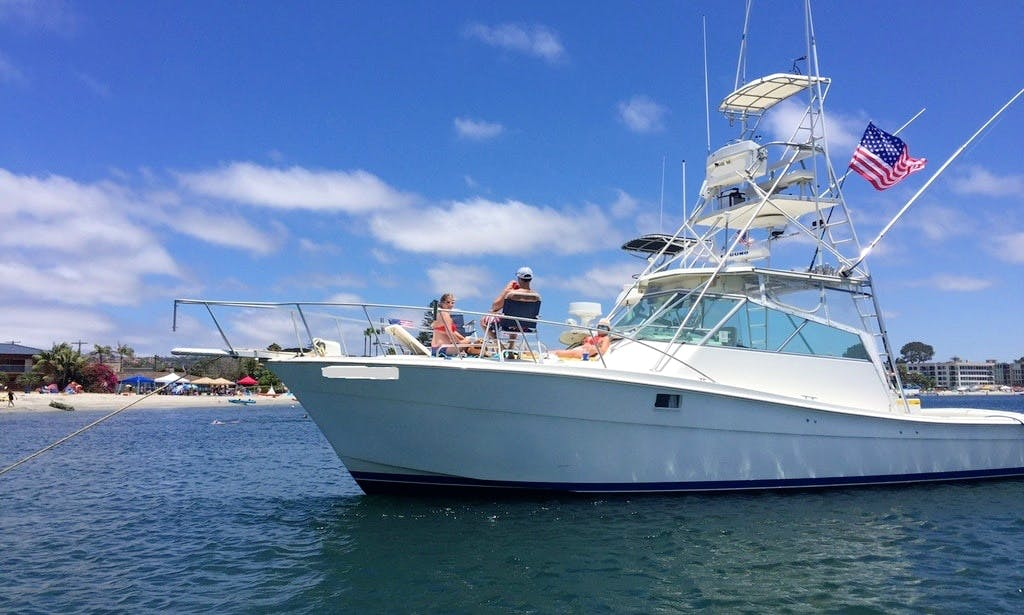 Hit the water of San Diego, California - Charter this Topaz Motor Yacht!