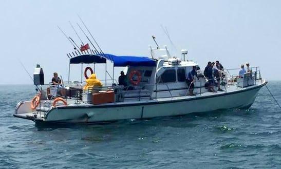 Charter This Trawler In Agadir, Morocco