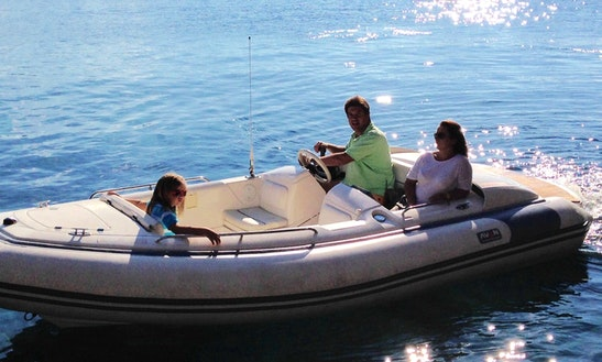 Avon Seasport 490dl Inflatable Boat For Rent In In Port De Sóller, Spain
