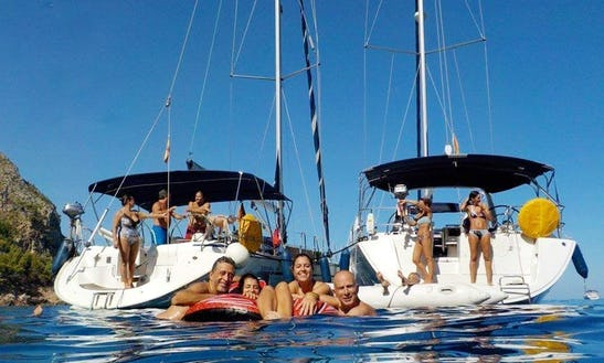 An Amazing Charter Experience Of Oceanis 50 Cruising Monohull In Palma, Balears