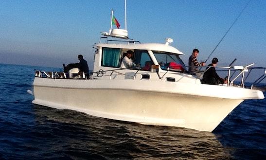 Fishing Yacht Charter For 12 Person In Cascais E Estoril, Lisboa