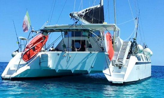 Charter 50' Mc Leod Cruising Catamaran In Sardegna, Italy