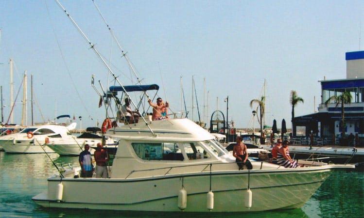 FISHING CRUISING BOAT IN SPAIN