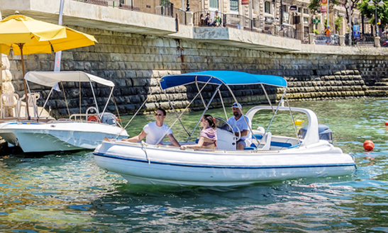 Rent A Rigid Inflatable Boat In Sliema, Malta