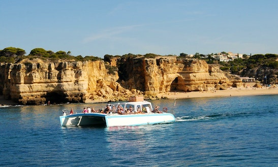 Cruising Catamaran In Albufeira