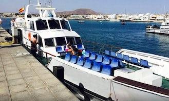 Ferry Boat to Lobos Island from Corralejo (Fuerteventura, Canary Islands)