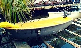 Rent 9' Popeye Dinghy in El Empalme, Panama