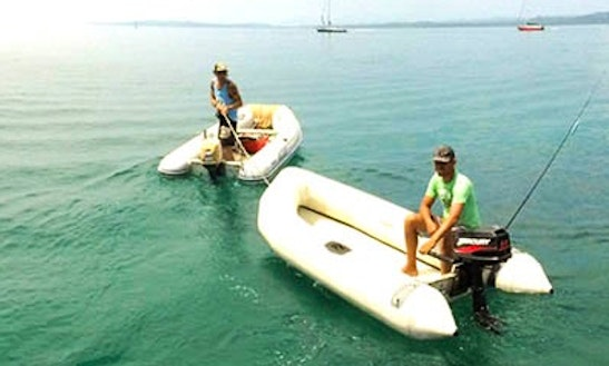 Rent 10' Randal Dinghy In El Empalme, Panama