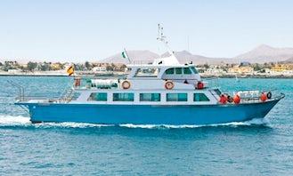 Minicruise & Snorkel to Lobos Island from Corralejo (Fuerteventura, Canary Islands)