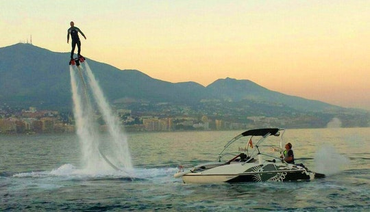 Flyboarding In Fuengirola, Spain