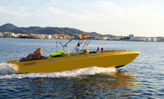 Speed Boat In Sant Antoni De Portmany