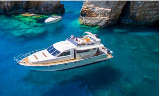 Charter 69' Posillipo Technema 64 Power Mega Yacht In Preveza, Greece