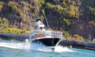 Sport Fishing in Lombo Do Doutor Madeira
