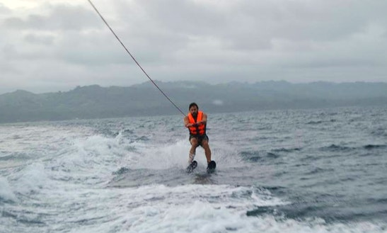 Enjoy Water Skiing In Anda, Philippines