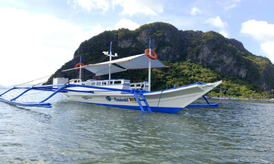 Charter A Traditional Boat With Bimini In El Nido, Philippines