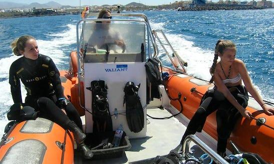 Diving Trips In Arona, Spain