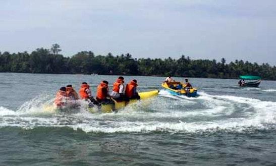 Enjoy Banana Boat Rides In Chipi, Maharashtra