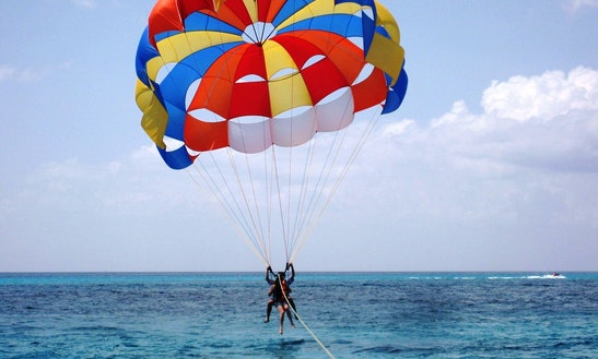Exhilarating Parasailing Adventure In Malvan, Maharashtra