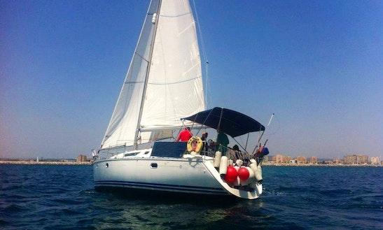 Jeanneau 36.2 Yacht Charter From Canary Islands