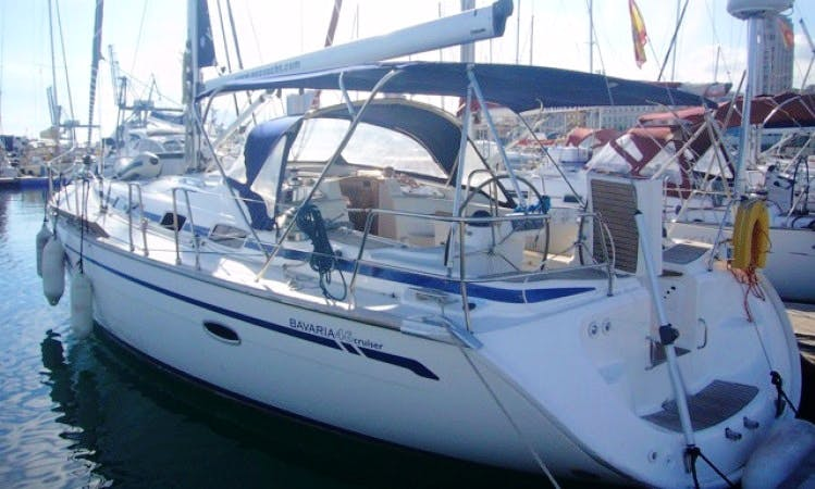 Charter Bavaria 46 Cruiser in Canary Islands