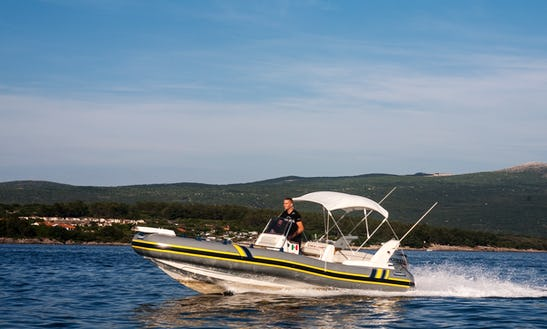 Fast And Reliable Marlin Top 20 Rib In Krk, Croatia
