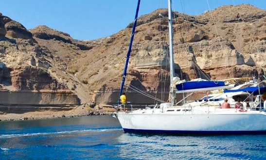 Enjoy Sailing On Santorini Islands Aboard 49' Atlantic Charter Boat