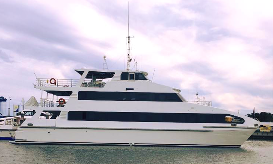 Charter 100' Power Mega Yacht In Surfers Paradise, Australia