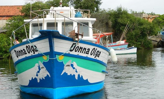 Enjoy Fishing In Joinville, Brazil On Donna Olga Motor Yacht